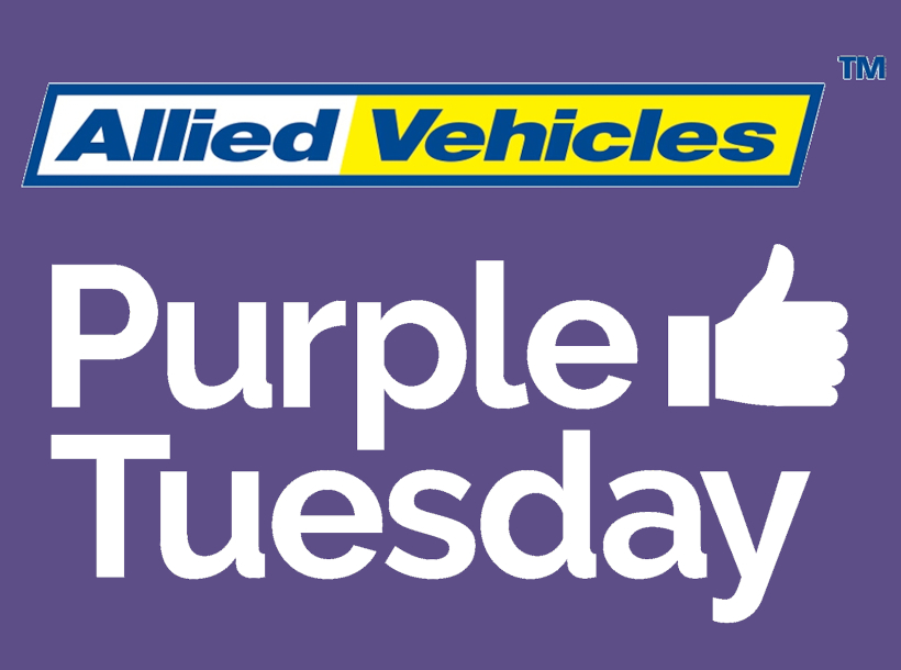 Purple Tuesday AVG
