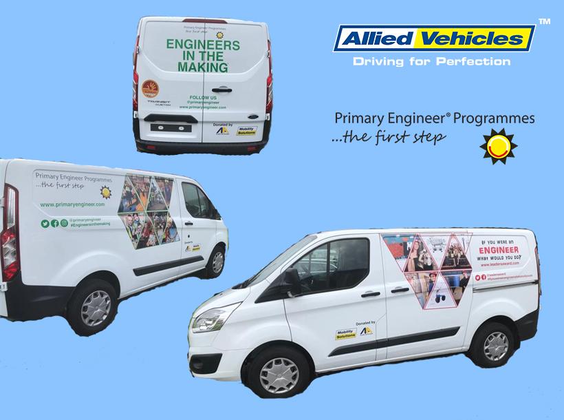 Primary Engineer Van AVG
